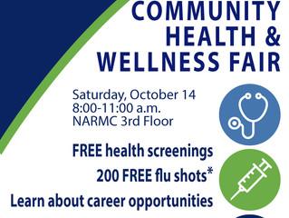 NARMC to Host Health and Wellness Fair