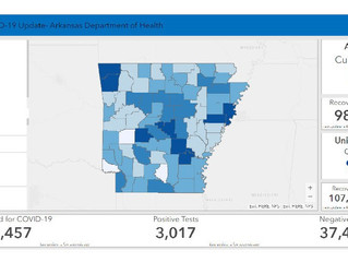 April 27 Arkansas Department of Health Update
