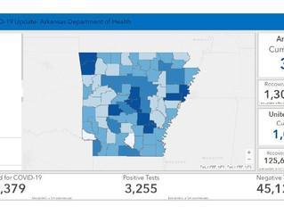 April 30 Arkansas Department of Health Update