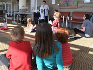 NARMC Staff Entertain TLC Families