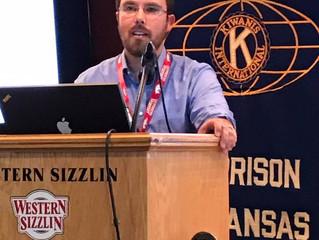 NARMC Pharmacists speak to Harrison Kiwanis Club