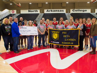 Northark Students Support Cancer Center