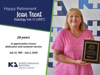 Happy Retirement Jean Trent!