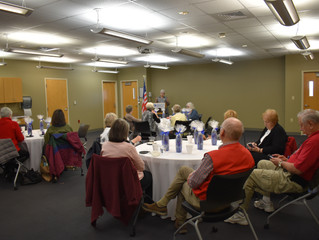 State Auxiliary Presidents meet at NARMC