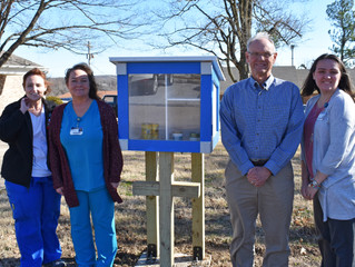Family Medicine Group Adds Food Pantry Box