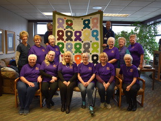 Stitch in Time Donates Quilt