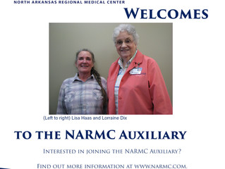 NARMC Auxiliary Welcomes New Volunteers