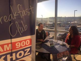 NARMC Hosts KHOZ Breakfast Club