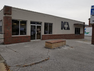 Thrift Store Entrance Temporarily Changed During Remodel
