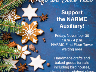 Craft and Bake Sale Coming Up