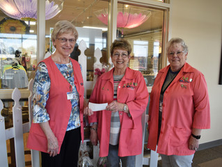 NARMC Gift Shop Raises $30,000 for Auxiliary
