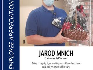 August Employee Appreciation Recipient Named