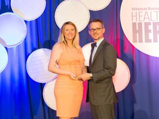 NARMC Hospice Team Member Named Arkansas Business Health Care Heroes Nurse of the Year