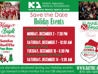 Holiday Events Coming Up Soon