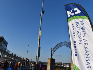 NARMC Honors Local Heroes during Goblin Football Game