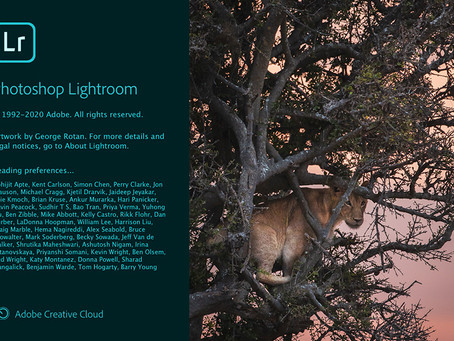 Lightroom Splash sports your image!