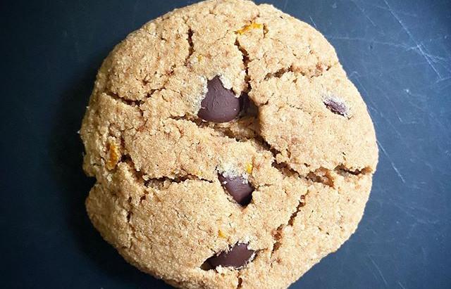 Pillowy Soft Orange + Chocolate Chip Cookies