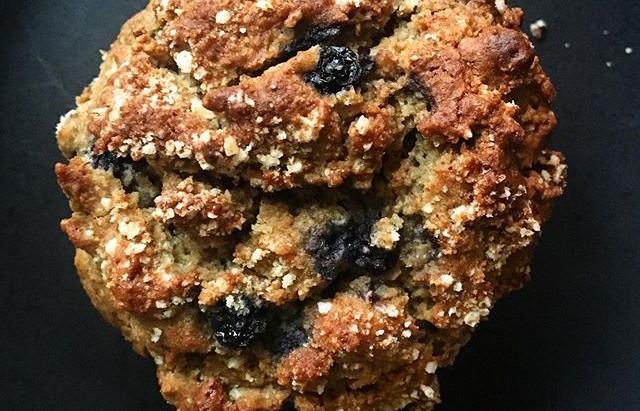 Blueberry Crunch Muffins