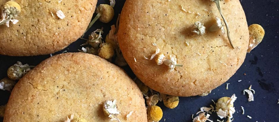 Chamomile Vanilla Bean Cookies