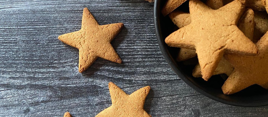 Ginger Spiced Breakfast Cookies