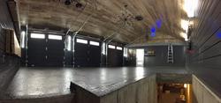 Finition intérieure garage