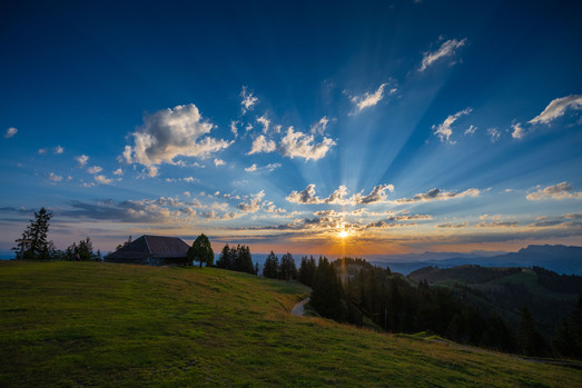 Sonnenaufgang auf dem Napf
