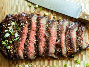 Fast-Fire Flank Steak