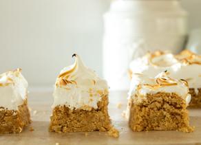 Toasted Marshmallow Peanut Butter Bars