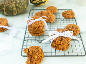 Butterscotch Oatmeal Pumpkin Cookies