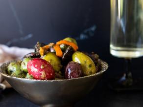 Extraordinary Marinated Olives