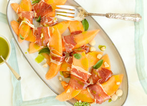 Melon with Proscuitto