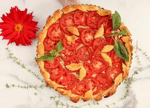Plum Tomato & Gruyère Tart