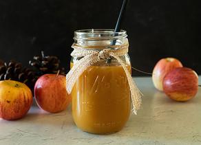 Apple Cider Salted Caramel Sauce