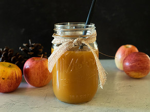 Apple Cider Salted Caramel Sauce