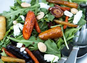Maple-Roasted Carrot Salad