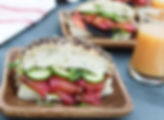 BEET-CURED SALMON SANDWICHES1
