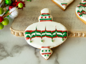 Ornament Iced Sugar Cookies