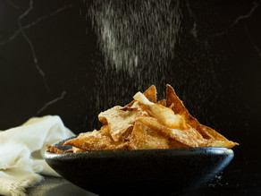 Powdered Crispy Wontons