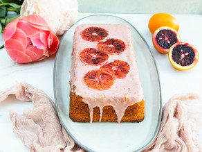 Blood Orange Yogurt Cake