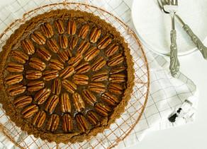 Brown Butter Chocolate Pecan Tart