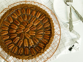 Brown Butter Chocolate Pecan Tart