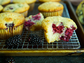 Blackberry-Buttermilk Muffin Cakes