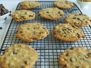Crispy Crunchy Chocolate Chip Cookies