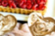 chocolate hearts and raspberry tart.jpg