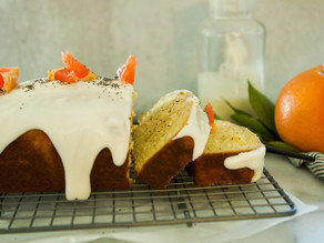 Grapefruit Poppyseed Loaf
