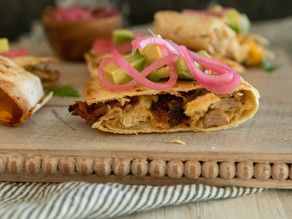 Oven-Baked Pulled Pork Quesadillas