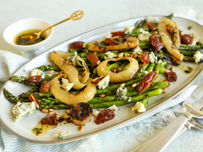 Grilled Asparagus & Onions