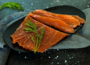 Sugar & Salt-Cured Salmon