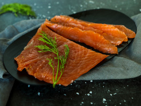 Sugar & Salt-Cured Salmon