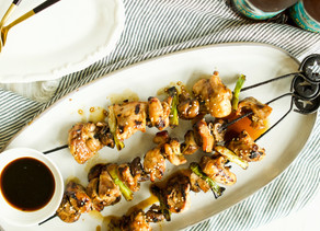 Japanese Chicken Kebabs
